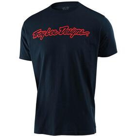 Troy Lee Designs Signature Camiseta, azul